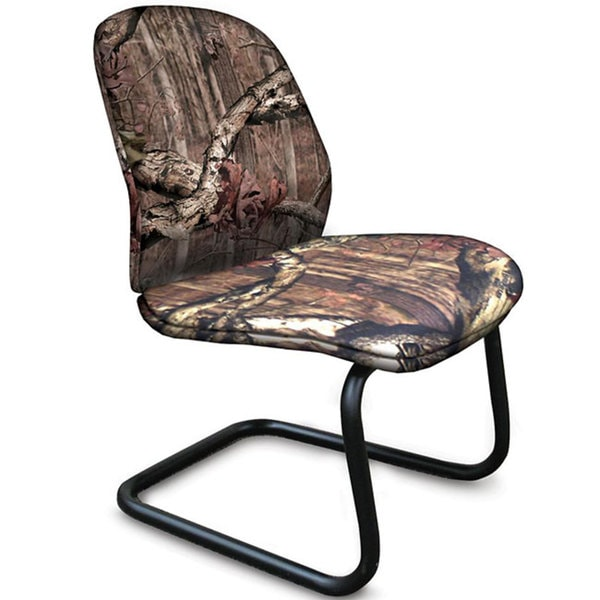 Allegra Mossy Oak Break-Up Infinity Fabric Visitors Chair