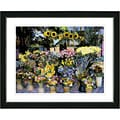 Studio Works Modern 'Flower Stand' Framed Print