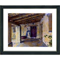 Studio Works Modern 'Mission Hallway' Framed Print