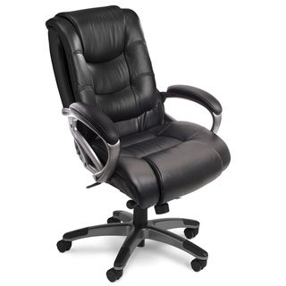 Mayline Ultimo 500 Series Mid-Back Executive Leather Chair