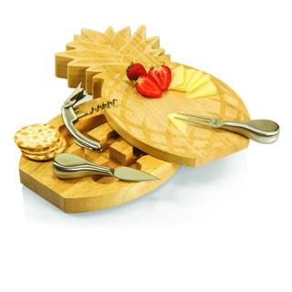Pineapple Cutting Board and Cheese Tools