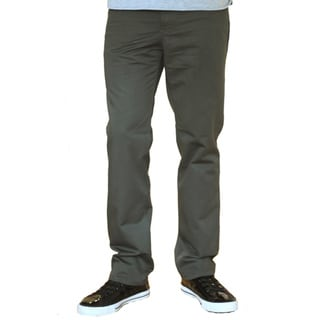 Something Strong Men's Dark Olive Straight-Leg Five-Pocket Pants