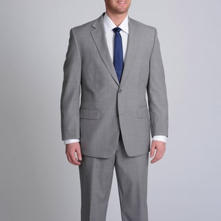 MICHAEL Michael Kors Men's Light Grey Pinstripe Wool Suit