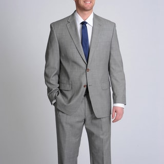 LAUREN by Ralph Lauren Men&#39;s Grey Shark Wool Suit