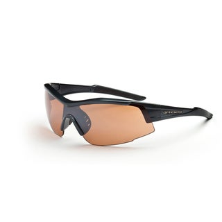 Optic Nerve 'Eyres' Carbon Sport Sunglasses with 2 Lens Pairs