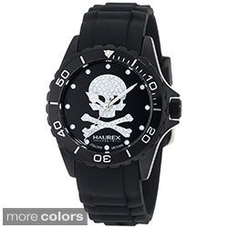 Haurex Italy Women's Skull and Crossbones Black Watch