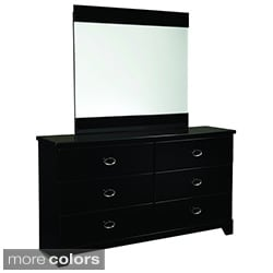 Khloe Glossy Finish Mirror