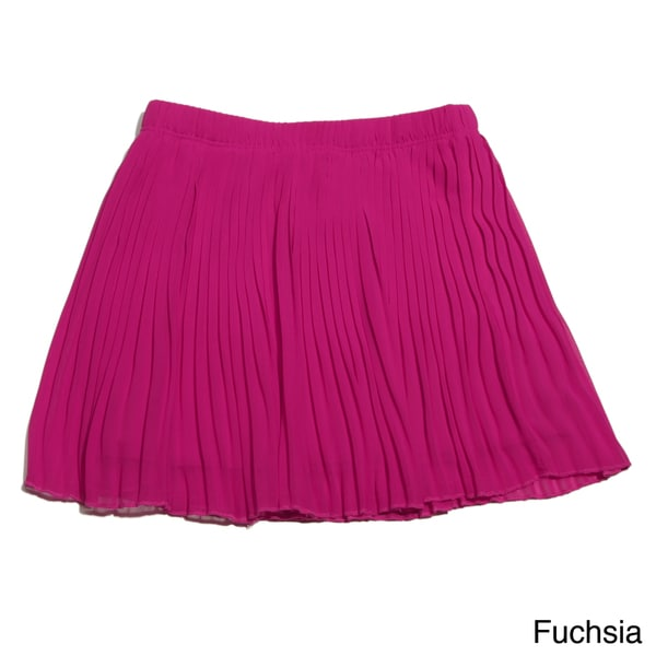 Sweetheart Jane Girls Pleated Chiffon Skirt