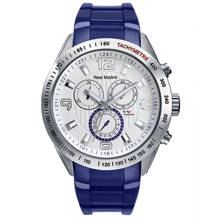 Viceroy Spain Men's Real Madrid Chronograph/ Tachymeter Blue Watch