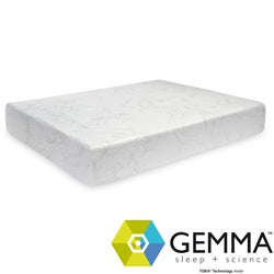 Gemma Thermal Comfort Plush 10-inch Twin-size Memory Foam Mattress