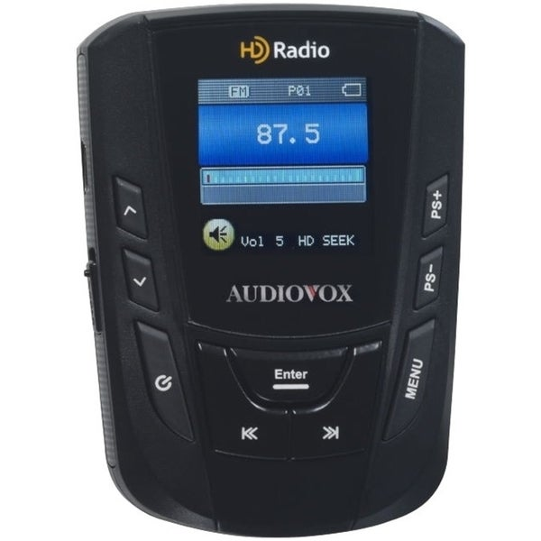 VOXX Electronics Portable HD Radio FM Receiver