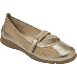 Women's Aerosoles Evolution Soft Gold Combo