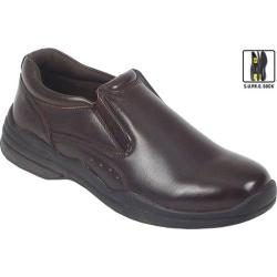 Men's Deer Stags Goal Dark Brown Leather