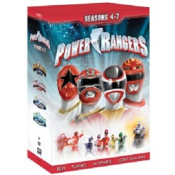 Power Rangers: Seasons 4-7 (DVD)