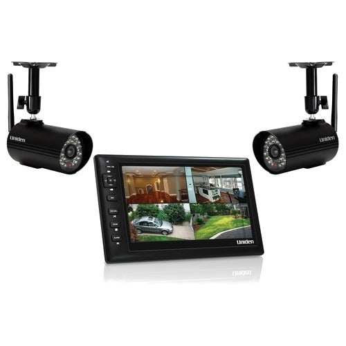 uniden digital wireless video surveillance system 15321451 shopping top. Black Bedroom Furniture Sets. Home Design Ideas
