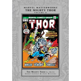Marvel Masterworks: The Mighty Thor 12 (Hardcover)