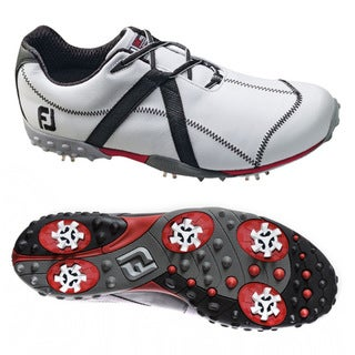 FootJoy Men's M Project White/ Black Golf Shoes