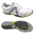 FootJoy Men's M Project Mesh Spikeless White/ Silver Golf Shoes