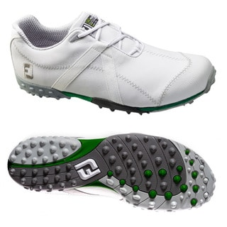 FootJoy Men's M Project Mesh Spikeless White/ White Golf Shoes
