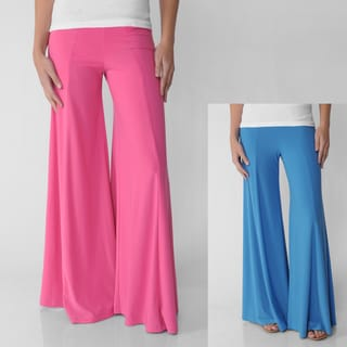 Adi Designs S Max Collection Knit Palazzo Pants