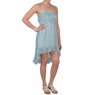 Journee Collection Juniors Strapless Empire Waist Hi-low Dress