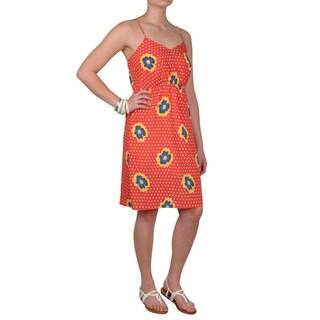 Journee Collection Juniors V-neck Spaghetti Strap Dress