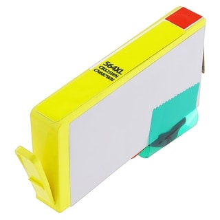 BasAcc Remanufactured Yellow Ink Cartridge for HP 564XL