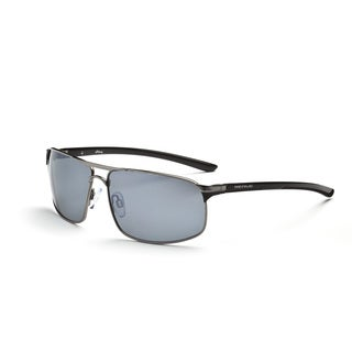 Optic Nerve 'Alloy' Shiny Gunmetal Sunglasses