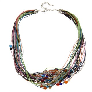 Beaded Multi-Strand Necklace (India)
