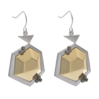 NEXTE Jewelry Two-tone Geodesic Popularity Dangle Earrings