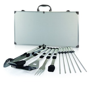 Mirage Pro Stainless Steel Barbecue Tool 11-piece Set