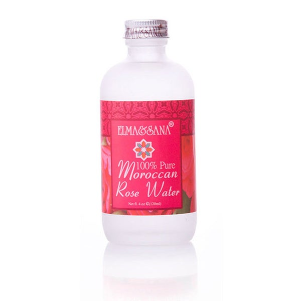 Elma & Sana Pure Moroccan Rose Water 4-ounce Skin Toner