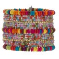 'Give Me The Colors' Multi-Colored Cuff Bracelet (India)