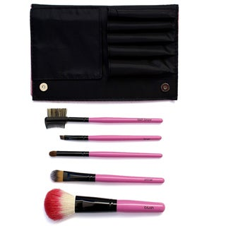 Starlet Pink Makeup Brush Set