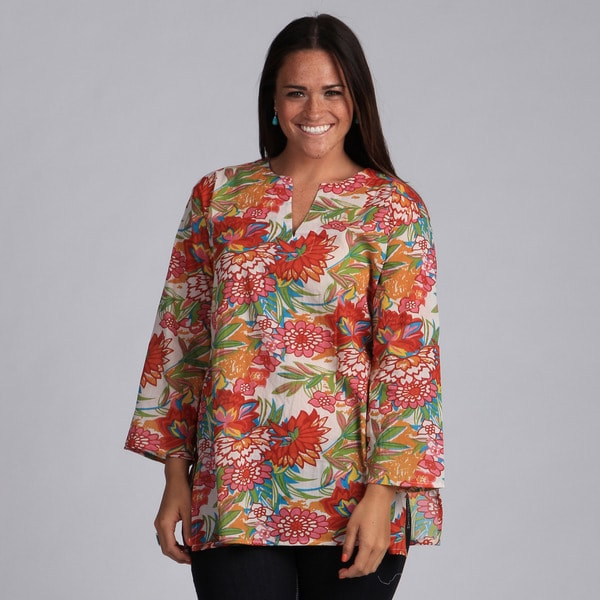 Bright Floral Prints Tunic (India)