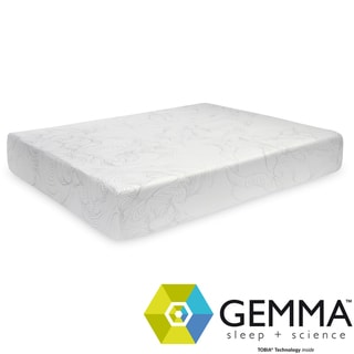 Gemma Thermal Comfort Plush 10-inch Queen-size Memory Foam Mattress