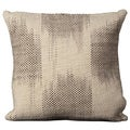 Mina Victory Tweed Ivory 20 x 20-inch Decorative Pillow by Nourison