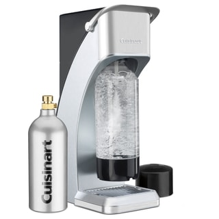 Cuisinart SMS-216S Silver Sparkling Beverage Maker and 16-oz CO2 Catridge
