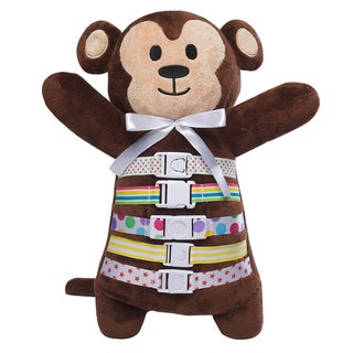 Buckleyboo BuckleyMonkey 17-inch Learning Toy