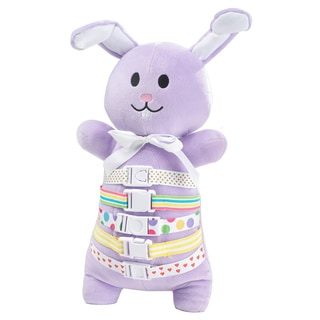 Buckleyboo BuckleyBunny 17-inch Learning Toy
