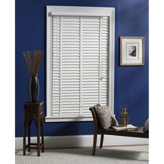 Veranda White Woven Fabric Slat Blinds