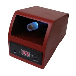 Wood Brown Digital Vaporizer