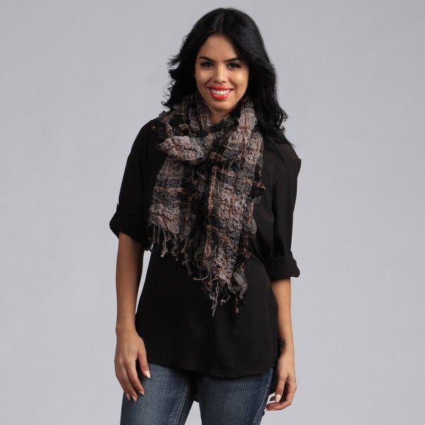 KC Signatures Classic Stretch Wool Scarf