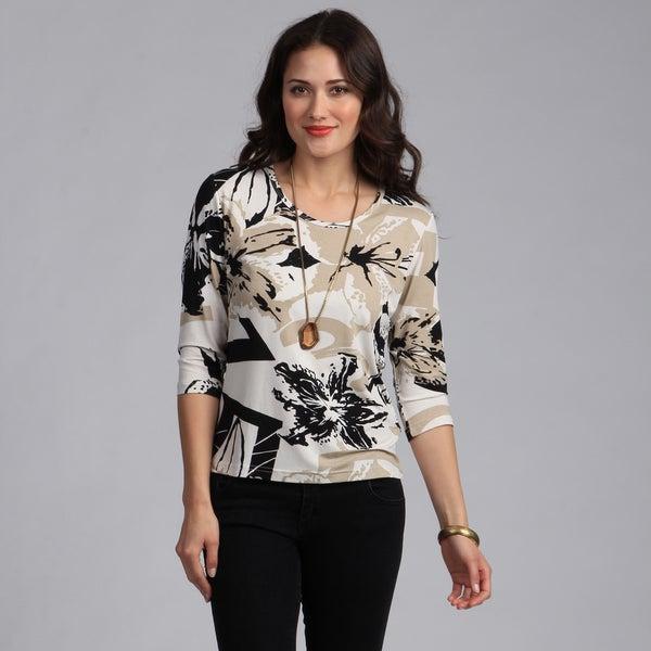 Rochelle Designer Women's Italian Fabric Top