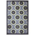 Rotunda Medallion Grey Rug (8' x 10')