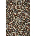Annabelle Brown/ Multi Rug (5'2 x 7'5)