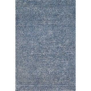 Hand-tufted Elle Denim Shag Rug (3'6 x 5'6)