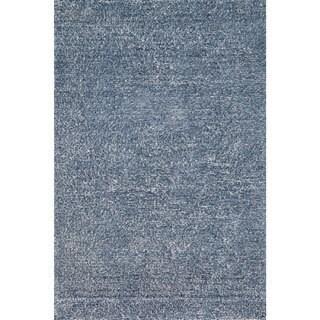 Hand-tufted Elle Denim Shag Rug (3'6 x 5'6)