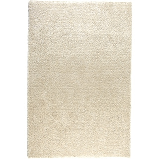 Hand-tufted Elle Ivory Shag Rug (5'0 x 7'6)
