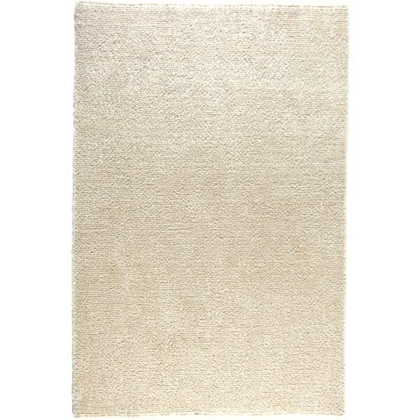 Hand-tufted Elle Ivory Shag Rug (7'6 x 9'6)